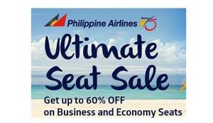 Philippine Airlines International Ultimate Seat Sale 2016 to 2017