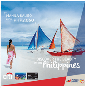 Philippine Airlines 2016 to 2017 Promo Fare Up to 50% OFF via CITI Card