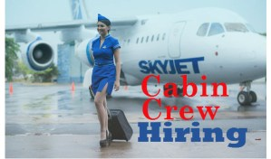 Latest SKYJET Cabin Crew Job Hiring Event 2016