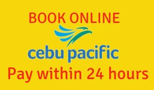 Book Online at Cebu Pacific, Pay Within 24 Hours After