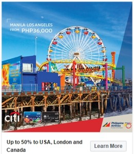 Philippine Airlines Promo Fare 2017: 50% Off to the US, Canada, London