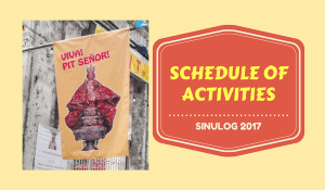 SINULOG 2017 Complete Schedule of Activities