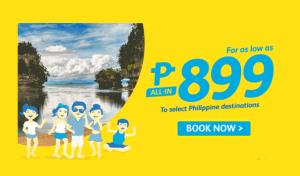 Cebu Pacific promo fare June to August 2017