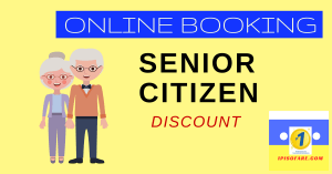 online booking senior citizen discount