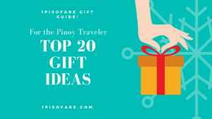 Top 20 Gift Ideas for Filipino Travelers | 1 Piso Fare Recommendations