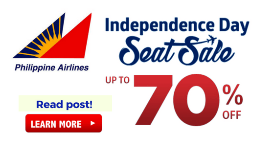 philippine airlines independence day promo fares