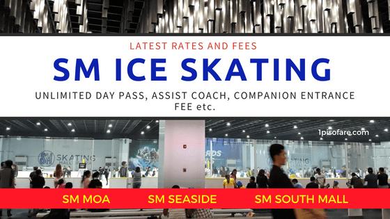 SM SKATING rates entrance fee