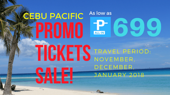 promo ticket sale cebu pacific