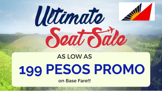 Philippine Airlines Ultimate Seat Sale September 2018