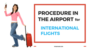 airport procedure for international flight