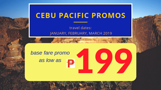 cebu pacific promos 199 pesos base fare