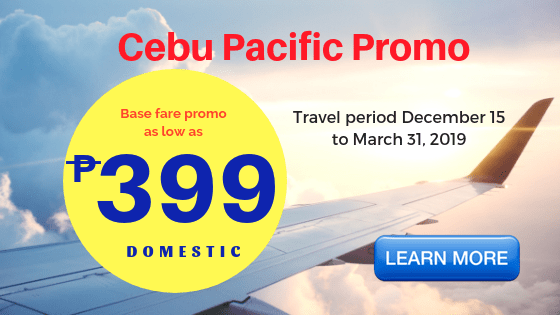 cebu pacific promo sale up to march 2019