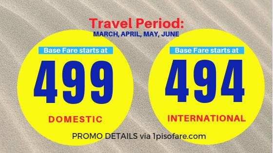 Promo fare March to June 2019