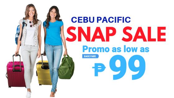 SNAP SALE Promo Cebu Pacific