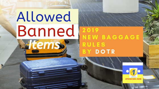 Allowed and Banned Items 2019