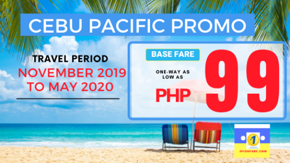 PROMO CEBU PACIFIC UNTIL MAY 2020