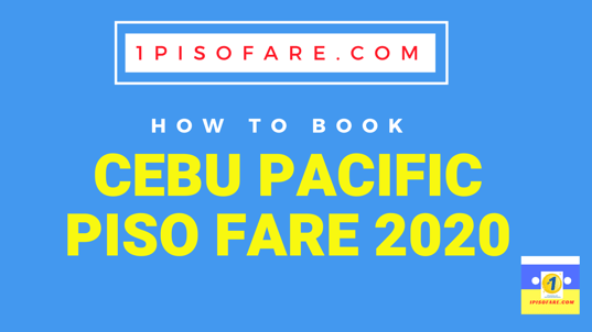 piso fare 2020 how to book tickets