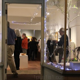 We had 200+ visitors during opening night