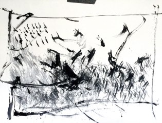 Gesture Drawing with Feather Brush