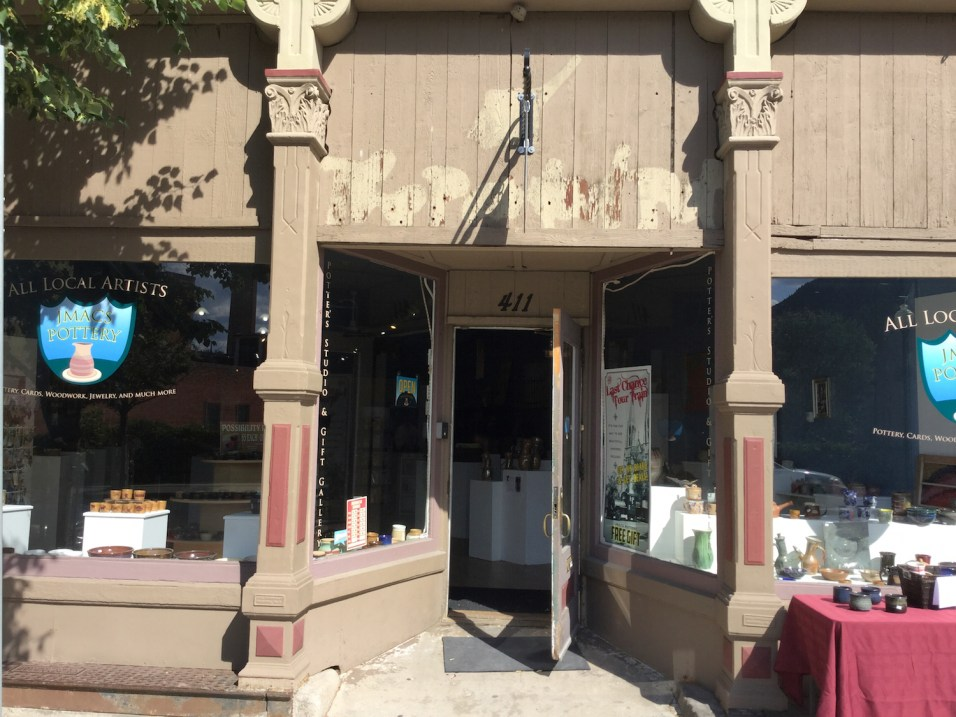 JMac's Pottery carries pottery by local craftspeople