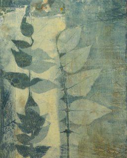 Tina Albro - Monoprint - The light at the end