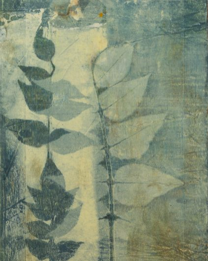 Tina Albro - Monoprint - The light at the end