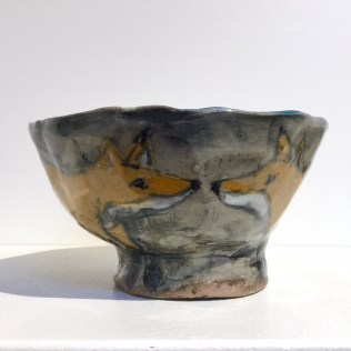 Trudy Skari Two Fox Bowl