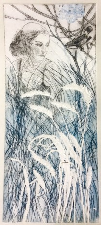 Monoprint by Maureen Shaughnessy