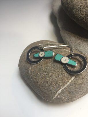 Earrings by Pyper Hugos of Bozeman, MT