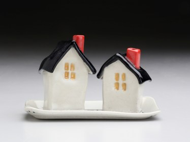 Maureen Cole, Village Salt & Pepper Shakers