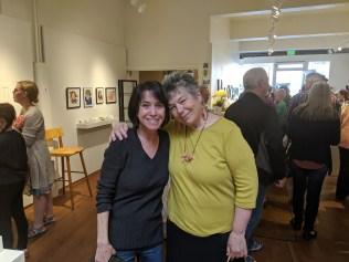Pam and Maureen
