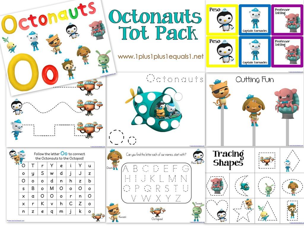 Octonauts Printables