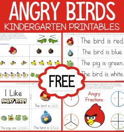Angry Birds Kindergarten Printables - 1+1+1\u003d1 [ 2000 x 2000 Pixel ]