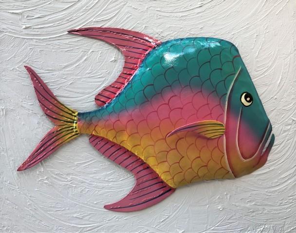 Lookdown fish metal wall art the best 2018