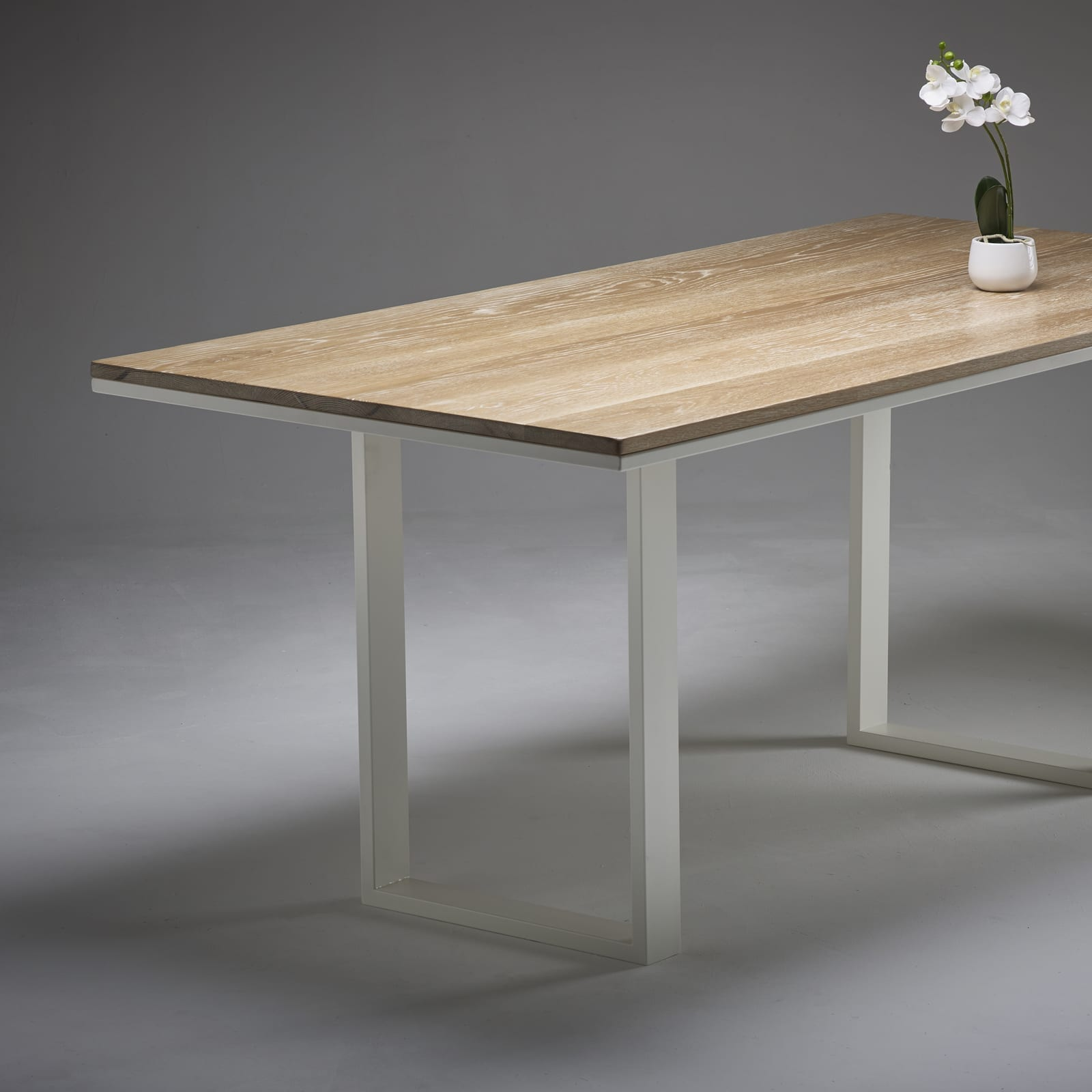 white washed oak dining table and chairs game winner chair whitewashed wicked hairpins