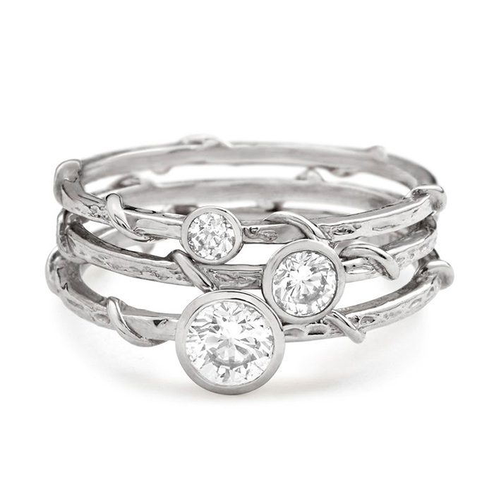 Popular Platinum Wedding Jewelry Trends