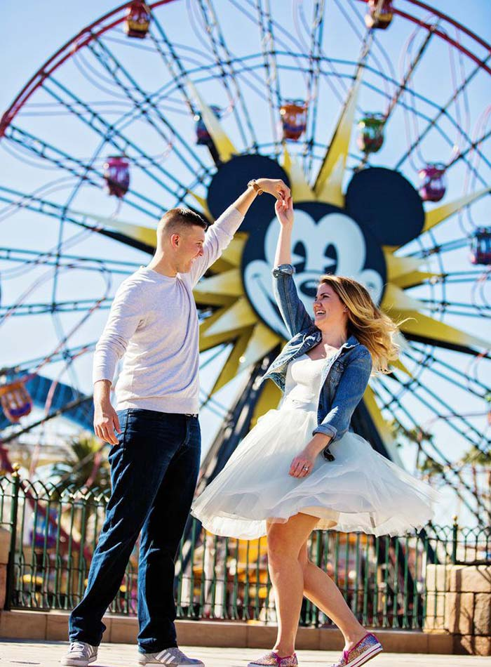 These Are The Most Magical Disney-Inspired Wedding & Engagement Photos Ever
