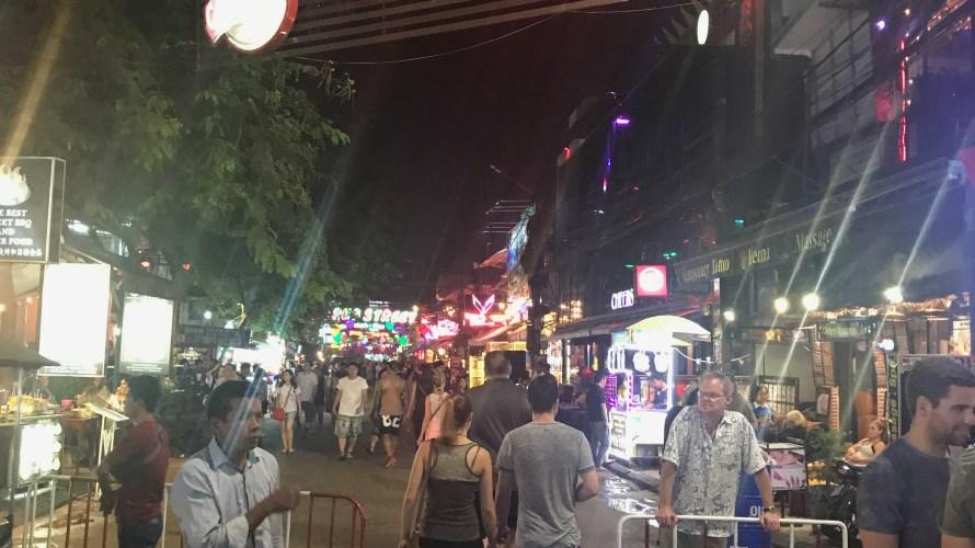 カンボジア旅行記 シェムリアップを街歩き