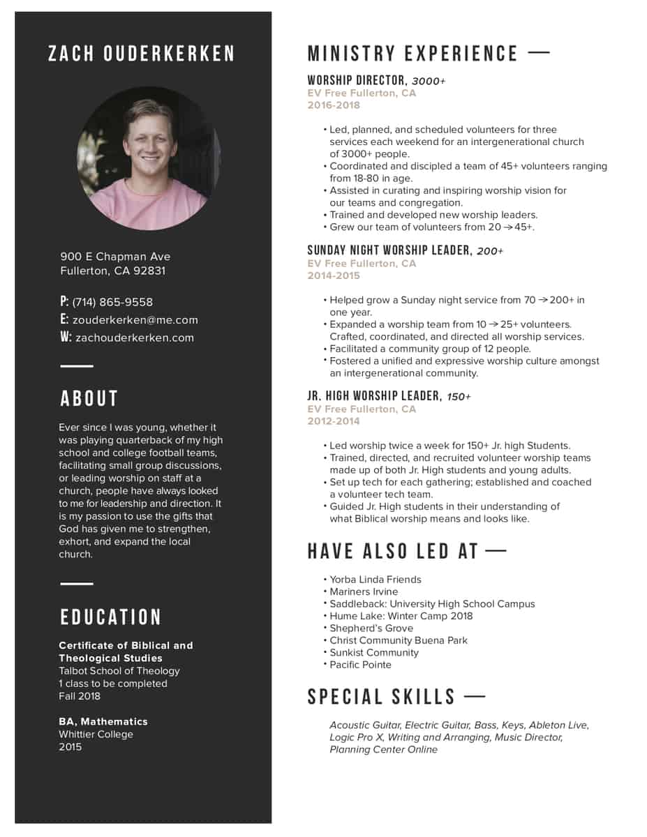 Revised Resume Great Resumes Xpastor