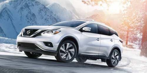 small resolution of 2019 nissan murano exterior view pearl white
