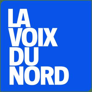 """Logo du journal """"La Voix du Nord"""""""