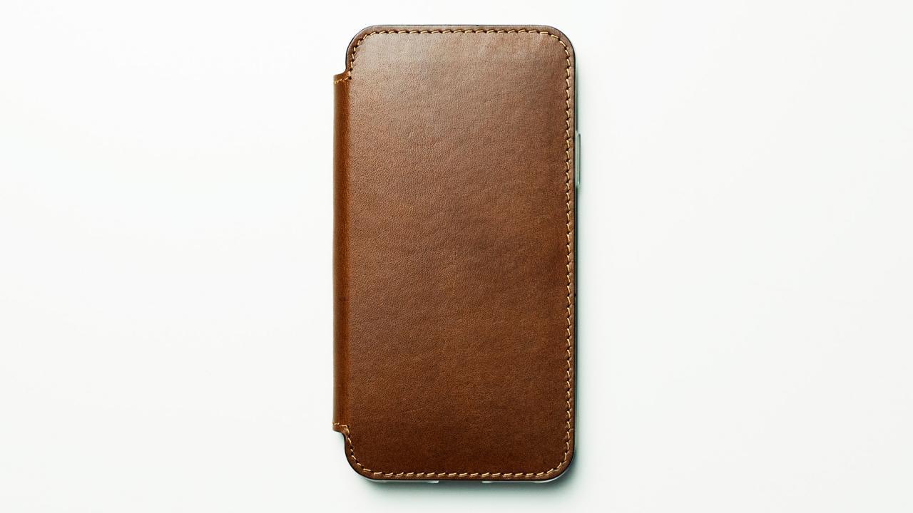 Nomad Leather iPhone X Case