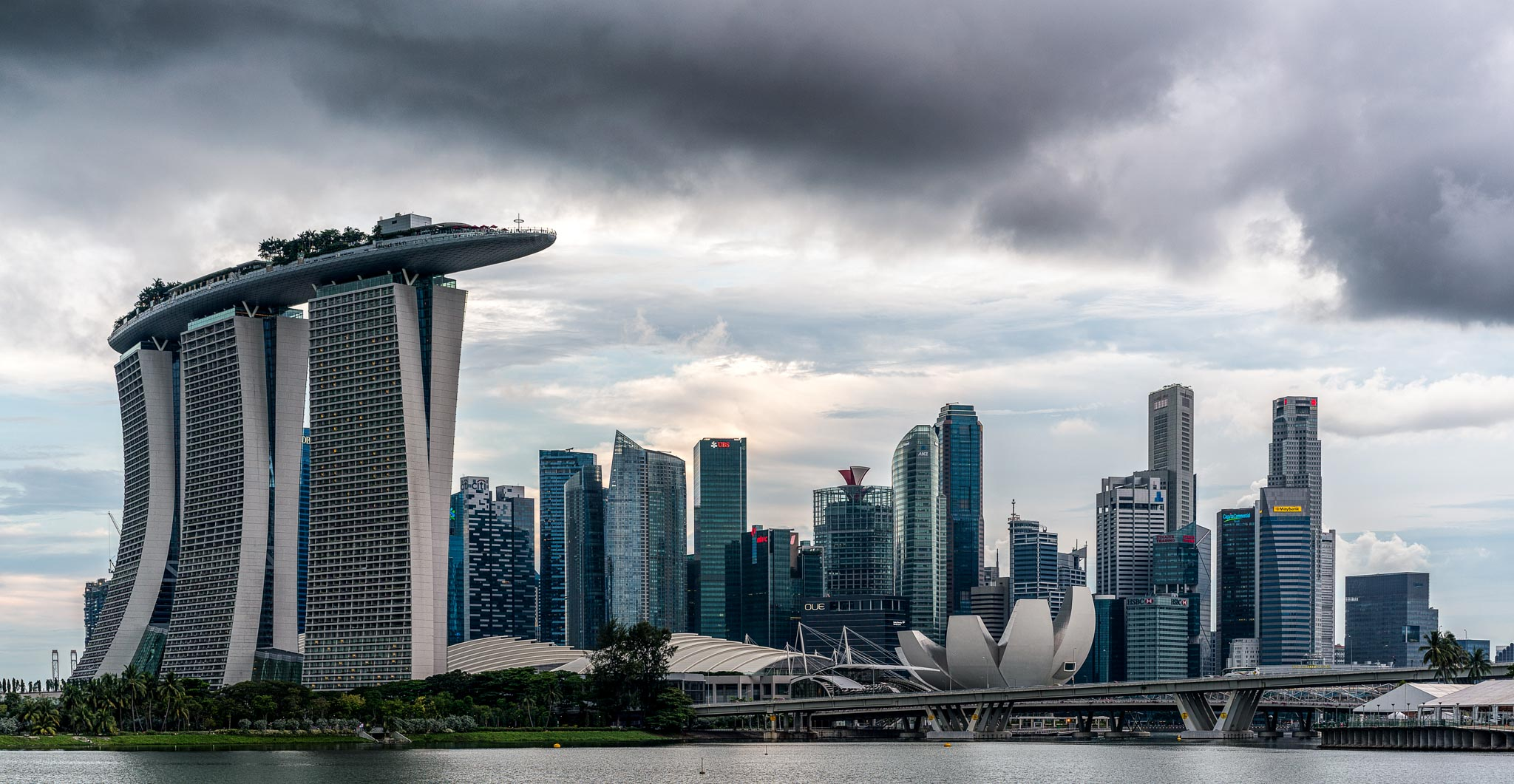 Picture of the Week Singapore Panorama  Andys Travel Blog