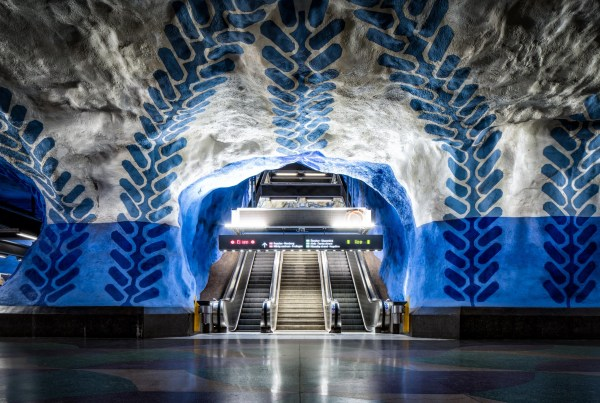 Stockholm' Amazing Metro Station Art Andy' Travel