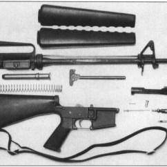 M16 Upper Receiver Assembly Diagram Wiring Or Schematic The Ar-15/m16: Rifle That Was Never Supposed To Be