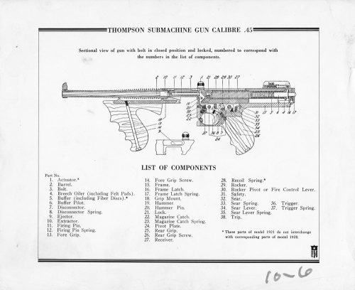 small resolution of fbi handout of the schematic of the thompson submachine gun