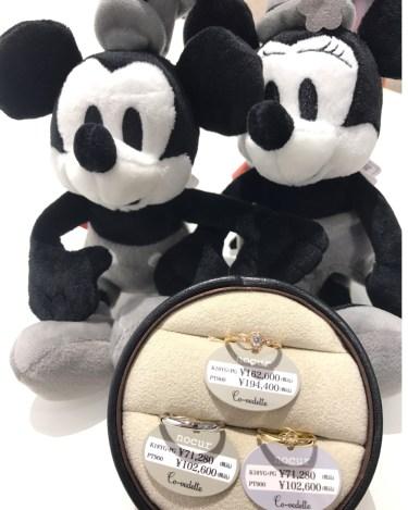 ディズニー 結婚指輪 ミッキーマウス