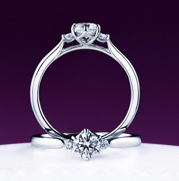俄(にわか)/NIWAKA 白鈴の婚約指輪(エンゲージリング)の画像