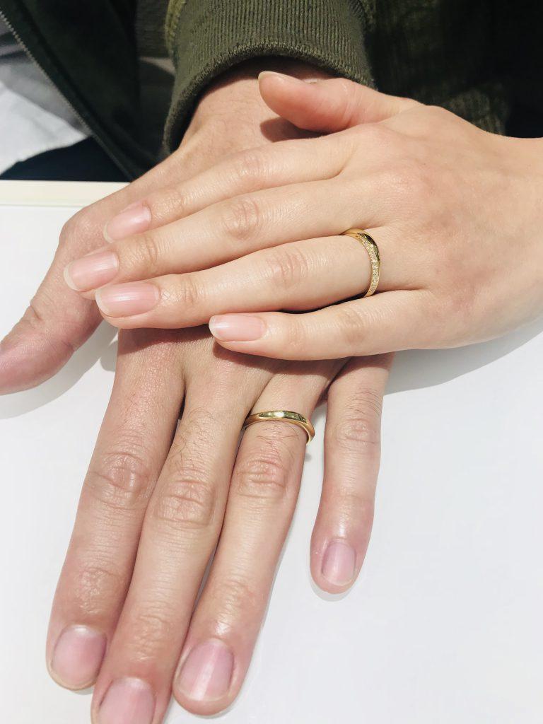 俄 ニワカ 凛 結婚指輪