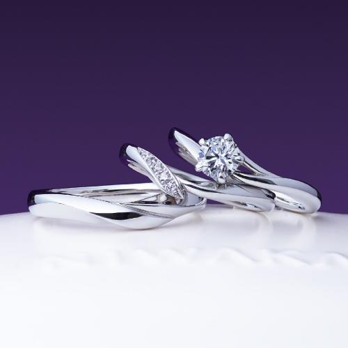 初桜 セットリング 婚約指輪 結婚指輪